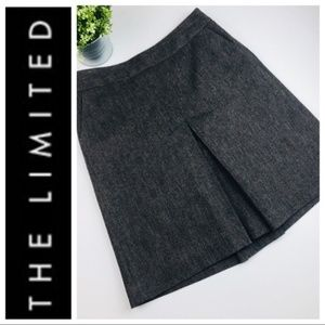 The Limited Brown Wool Blend Skirt
